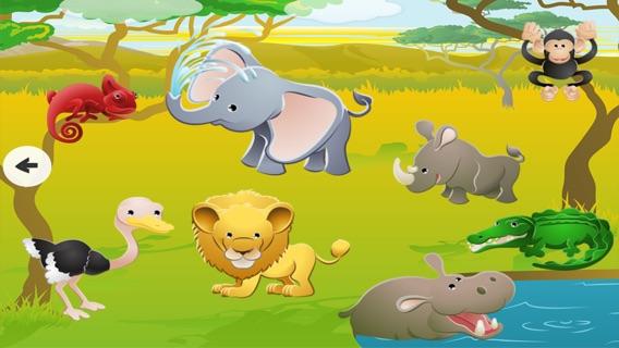 juego educativo para nios de edad sobre los animales del safari juegos para jardn de infantes escuela preescolar o guardera a aprender ingles con