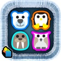 Congelati Arctic - Fun Partita Tre Puzzle Game icon