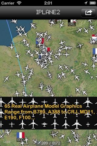 iPlane 2 - Flight Info + Status + Radar Tracker screenshot 1