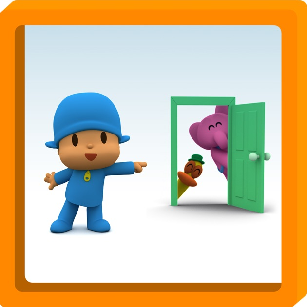 & Pocoyo: A thousand door - Free book for kids on the App Store Pezcame.Com