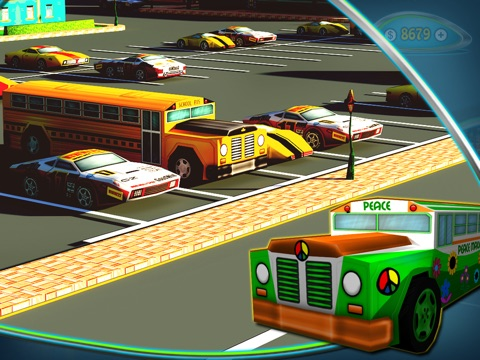 Screenshot #5 pour Kids Cars : Toy Bus Parking 3D