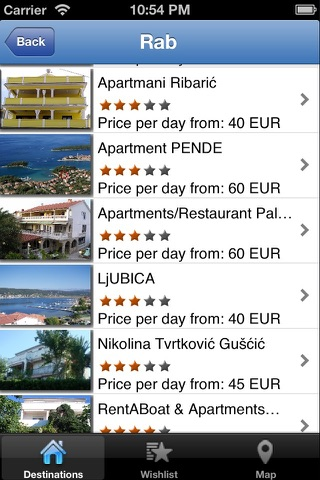 Apartments Croatia screenshot 2