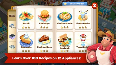 Screenshots of Restaurant Story 2 for iPhone