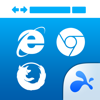 Flash Video Web Browser – Full Chrome, IE, Firefox, Safari Compatible