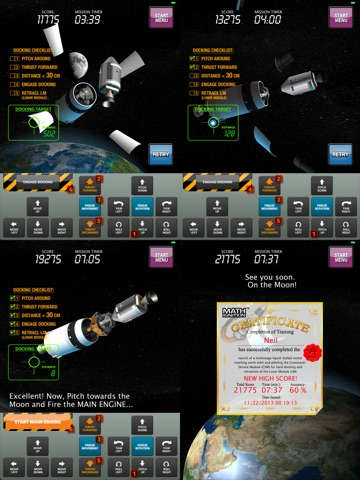 Screenshot #5 for MATH IGNITION™ Launch, LM Dock & TLI [iPad edition]