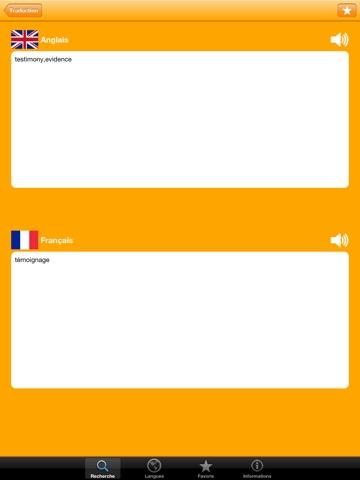 Словарь 20 языков обычных слов Скриншоты7