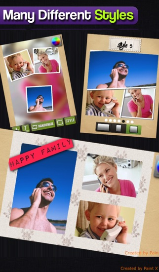 Screenshot of Super Photo Collage and Border per Linkedin, IG, FB, PS, Tumblr, Zoosk1