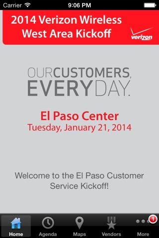 Verizon Wireless West Area Events screenshot 2
