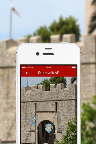Dubrovnik AR screenshot 2