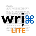 FioWriter Lite - Productive text editor for iPhone & iPad with command keys and cloud sync icon