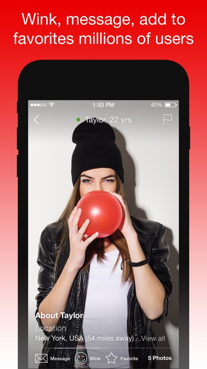 IWantU – An App Where You Can Chat & Meet Singles by Massinteractive  Services