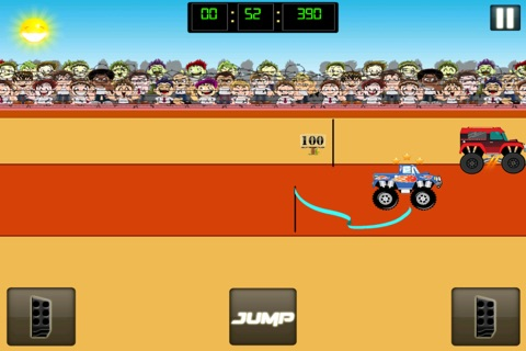 Monster Jam - Dirt Track Truck Racing Game Free screenshot 4