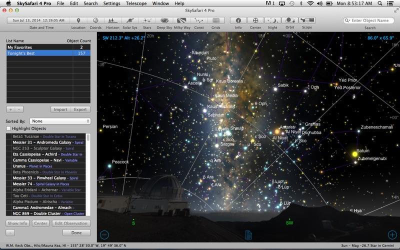 Screenshot #3 pour SkySafari 4 Pro
