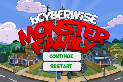 bCyberwise Monster Family screenshot 1