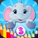 Kid Coloring Box - Doodle & Coloring 2-in-1 icon