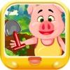 三只小猪数字大比拼 早教 儿童游戏