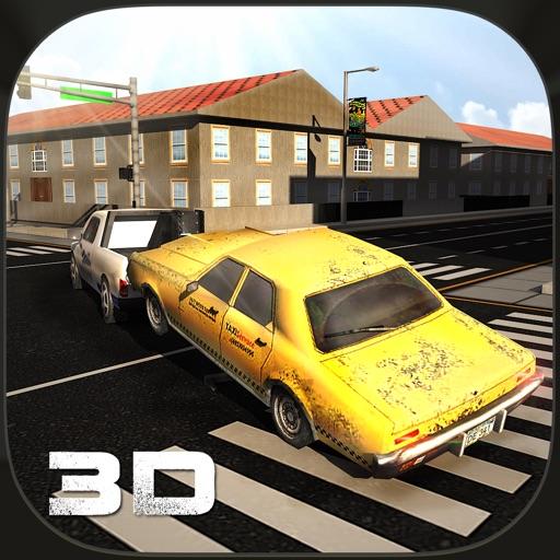 Autounfall-Abschleppwagen-3D-Treiber Spiel