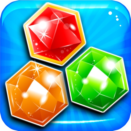 Match-3 Mania - diamond game and kids digger's quest hd free iOS App