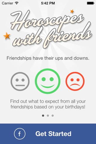 Horoscopes with Friends by Moonit screenshot 2