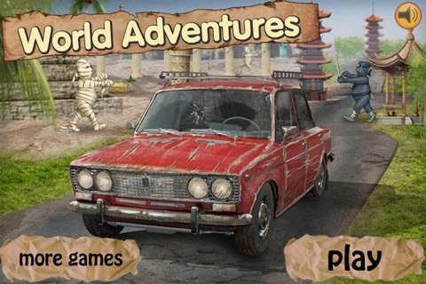 Rusty Car Adventures : Extreme Racing All Over The World! screenshot 1