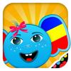 iPlay Roumain: Les enfants découvrent le monde - Apprendre une langue avec de jeux pour des bébés, des enfants d'âge préscolaire et école