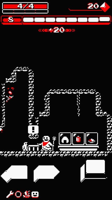 Screenshot #10 for Downwell