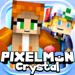 CRYSTAL (PIXELMON Edition) - Dex Hunter Survival Mini Block Game with Multiplayer