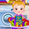 Baby Learn Washing Clothes