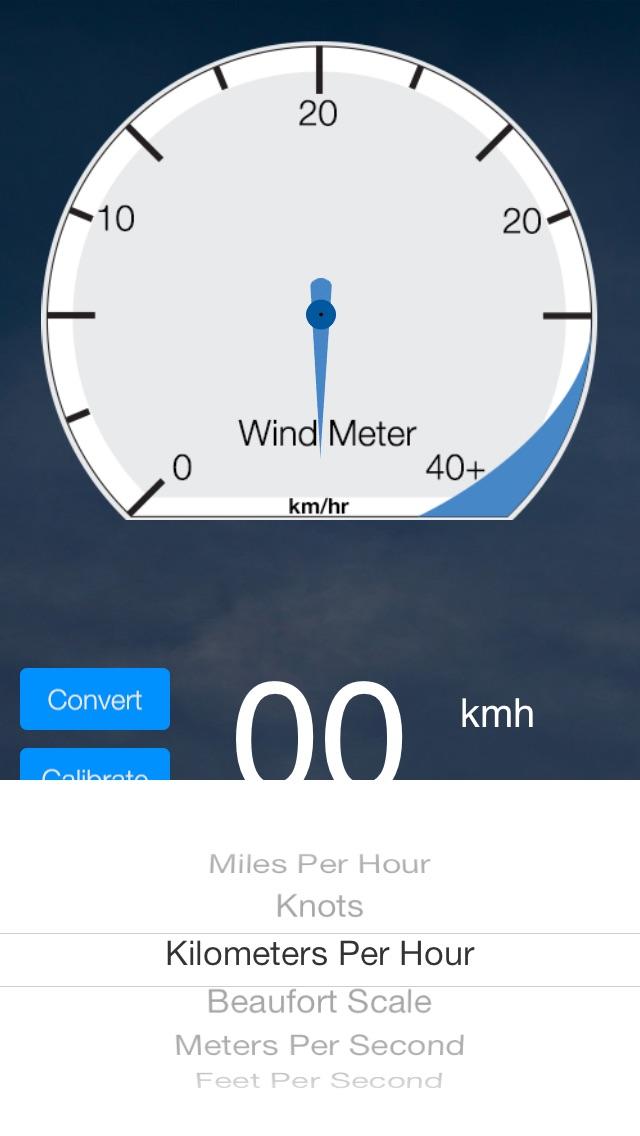 Wind Meter Screenshot 2