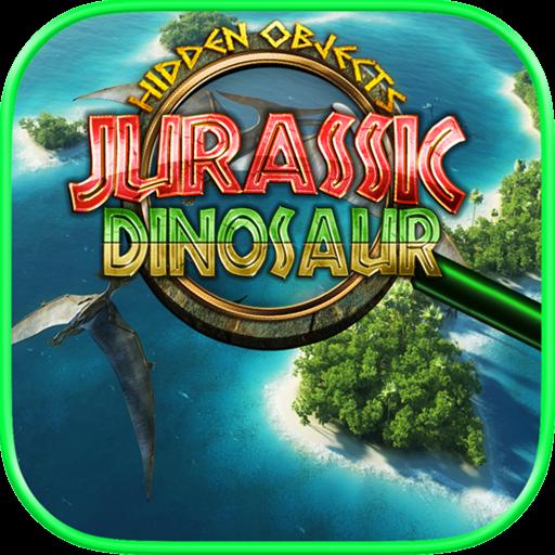Hidden Objects Jurassic Dinosaur