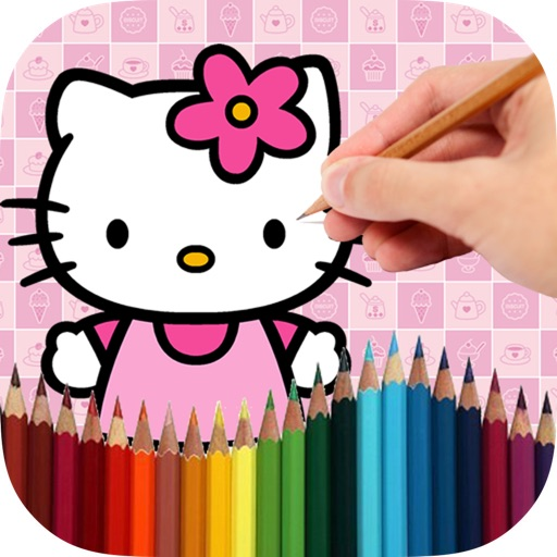 Colorin Book Kitty iOS App