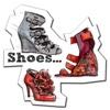 Mode Schuhe Illustration Wallpapers HD: Zitate Hintergründe mit Design Bilder