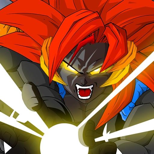 Dragon X Fighter : Saiyan Warrior iOS App