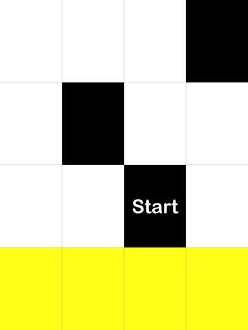 Screenshots of Tap Black Tiles, Avoid White Tiles for iPad