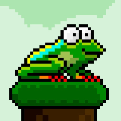 Jumpy Toad iOS App
