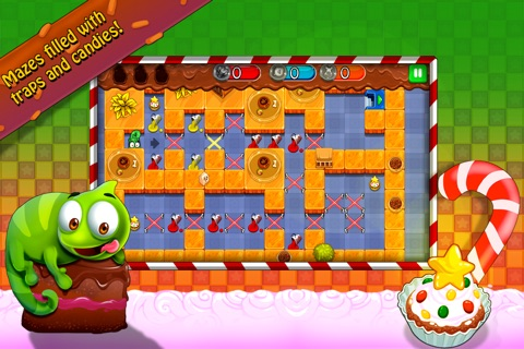 Candy Maze Free - The Sweet Puzzle Adventure for All Ages screenshot 2