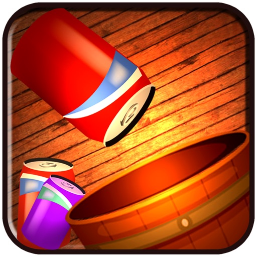 Shoot the beer can to the barman for another run - Free Edition iOS App