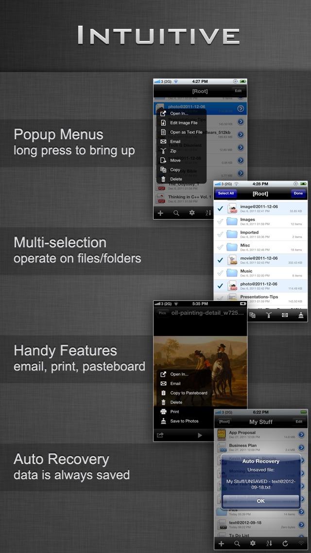 File Manager - Folder Plus LiteScreenshot of 4