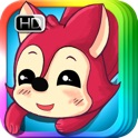 The Fox and the Grapes - bedtime fairy tale Interactive Book iBigToy-child icon