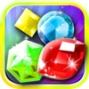 Jewel's Drop 2 Match-3 - diamond dream game and kids digger's mania hd free