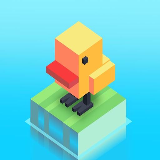 天天过河:疯狂小鸟冒险记 - 休闲无尽街机挑战小游戏