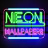 Neon papel de parede HD grátis - Criar tela de bloqueio temas coloridas e fundos brilhantes