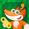 Tim the Fox - Puzzle - free preschool puzzle game