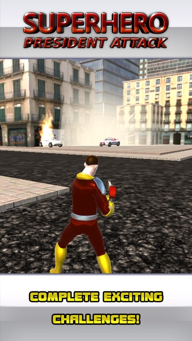 Супергерои: Покушение на Президента Screenshot