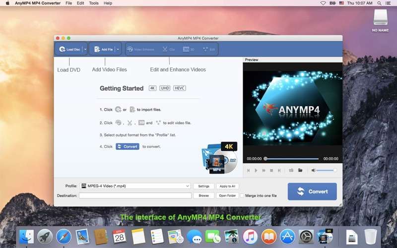 Screenshot AnyMP4 MP4 Converter-meilleur convertisseur vidéo