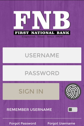 First National Bank of Edgewood screenshot 1