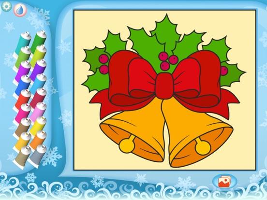 Скачать Раскрась по номерам – Рождество