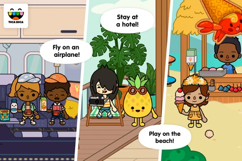 Toca Life: Vacation screenshot 1