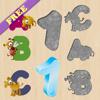 Rompecabezas del alfabeto para bebés y niños: aprender Inglés! GRATIS - Aprender los números - juegos para niños - puzzle para niños - juegos de rompecabezas