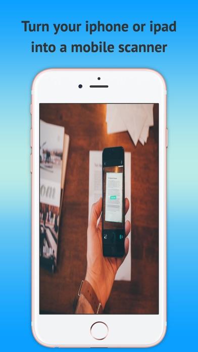 Mobile Scanner OCR - PDF gratuitCapture d'écran de 1